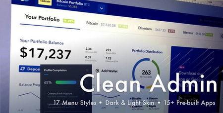 دانلود قالب HTML بخش مدیریت وبسایت Light Admin