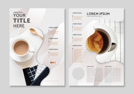 دانلود طرح لایه باز قالب مجله