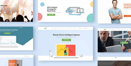 دانلود قالب Marketing Pro   قالب بازاریابی دیجیتال برای وردپرس
