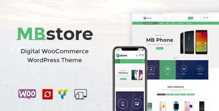 دانلود قالب MBStore   قالب فروشگاهی ام بی استور برای وردپرس
