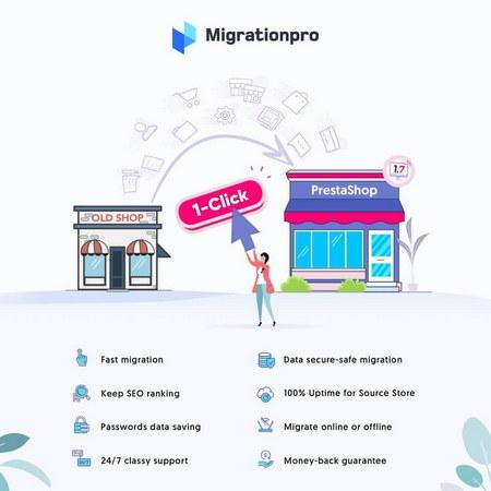 ارتقاء و انتقال فروشگاه در پرستاشاپ با افزونه MigrationPro