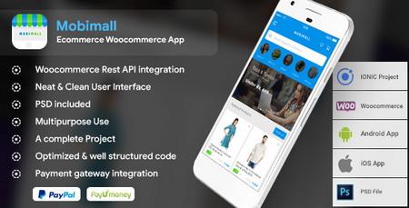 افزونه ایجاد اپلیکیشن موبایل برای فروشگاه ووکامرسی Mobimall