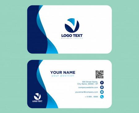 دانلود طرح لایه باز کارت ویزیت شرکتی