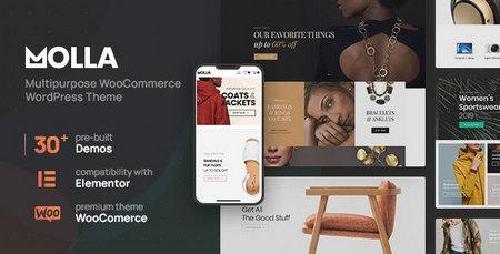 دانلود قالب Molla    قالب فروشگاهی برای وردپرس