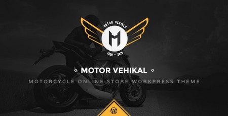 دانلود قالب Motor Vehikal   قالب فروشگاه موتور سیکلت برای وردپرس