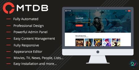 اسکریپت نقد و بررسی فیلم و سریال MTDb نسخه 3.0.6