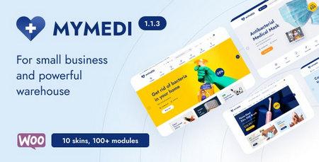 دانلود قالب MyMedi   قالب وردپرس پزشکی مای مدی
