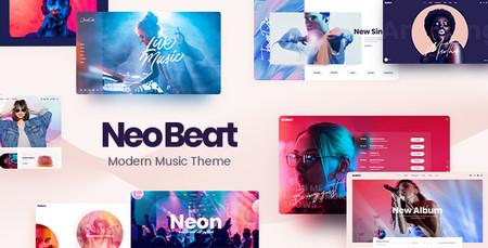 دانلود قالب NeoBeat – قالب موسیقی وردپرس