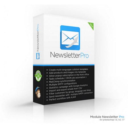 ایجاد خبرنامه در پرستاشاپ با افزونه Newsletter Pro
