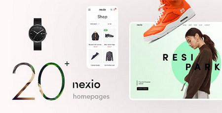 پوسته فروشگاهی Nexio برای ووکامرس