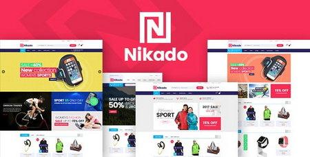 دانلود قالب فروشگاهی Nikado برای پرستاشاپ