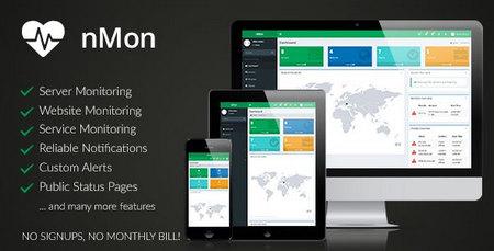 اسکریپت مانیتورینگ سرور، وبسایت و خدمات nMon