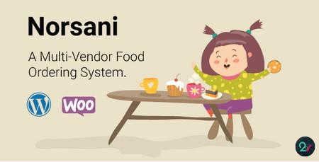 سیستم چند فروشندگی سفارش غذا در ووکامرس با افزونه Norsani