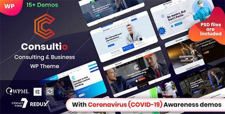 دانلود قالب Consultio   قالب شرکتی برای وردپرس