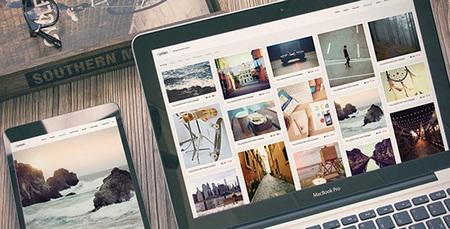 پوسته عکاسی Oyster برای وردپرس