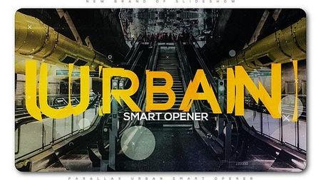 دانلود پروژه افتر افکت آماده اسلایدشو پارالاکس Parallax Urban Smart Opener