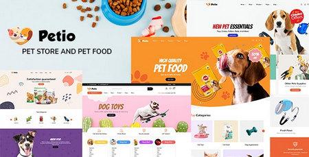 دانلود قالب Petio – قالب فروشگاه حیوان خانگی برای وردپرس