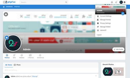 دانلود اسکریپت جامعه مجازی PHPFox نسخه 4.7.6 + افزودنی ها