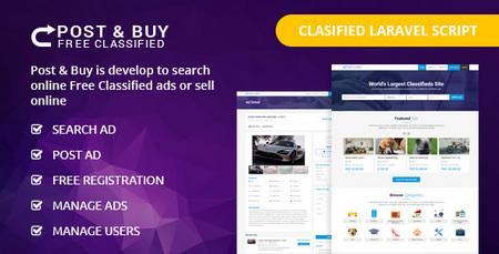 اسکریپت نیازمندی و خرید و فروش Post and Buy