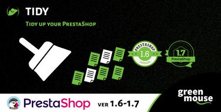 افزونه بهینه سازی و افزایش سرعت پرستاشاپ Prestashop Tidy