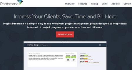 راه اندازی سیستم مدیریت پروژه در وردپرس با افزونه Project Panorama
