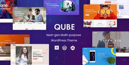 دانلود قالب Qube   قالب چندمنظوره و تجاری وردپرس