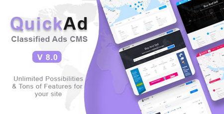 اسکریپت پیشرفته نیازمندی ها و ثبت آگهی Quickad
