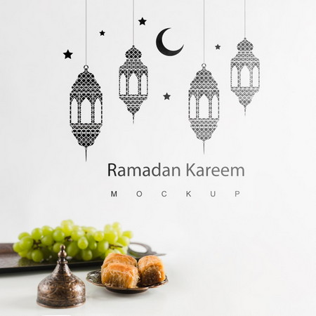دانلود طرح لایه باز پوستر ماه رمضان