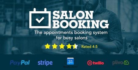 دانلود افزونه Salon Booking   افزونه رزرو سالن و قرار ملاقات وردپرس