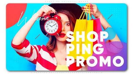 دانلود پروژه آماده افتر افکت تیزر تبلیغات خرید Shopping Colorful Promo