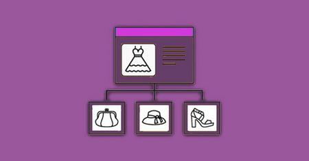 نمایش محصولات مرتبط در ووکامرس