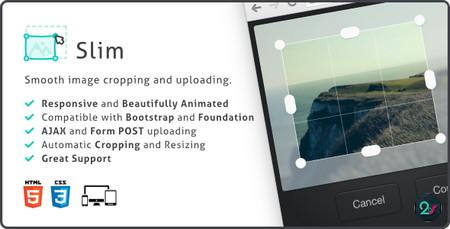 اسکریپت برش آنلاین تصاویر Slim Image Cropper