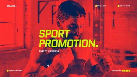 دانلود پروژه آماده افتر افکت رویدادهای ورزشی Sport Promo Opener