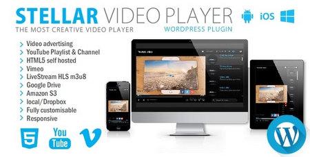 افزونه Stellar Video Player   افزونه بخش ویدئو برای وردپرس