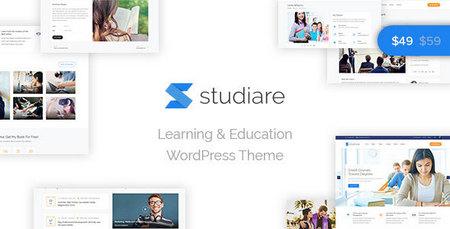 دانلود قالب استادیار Studiare قالب آموزشی وردپرس