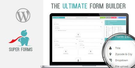افزونه فرم ساز پیشرفته وردپرس Super Forms نسخه 4.9.464 + افزودنی ها