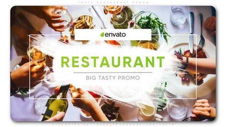 دانلود پروژه افتر افکت آماده تبلیغات رستوران Tasty Restaurant Promo