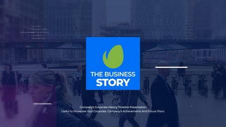 دانلود پروژه آماده افتر افکت ارائه داستان کسب و کار The Business Story