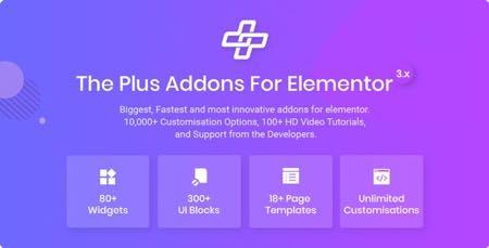 افزودنی The Plus برای صفحه ساز پیشرفته Elementor