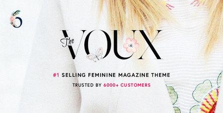 دانلود قالب مجله ای The Voux برای وردپرس