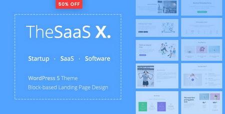 دانلود قالب چندمنظوره TheSaaS X برای وردپرس