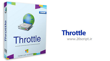 دانلود نرم افزار افزایش سرعت اینترنت Throttle