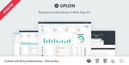 دانلود قالب HTML کیت رابط کاربری Uplon