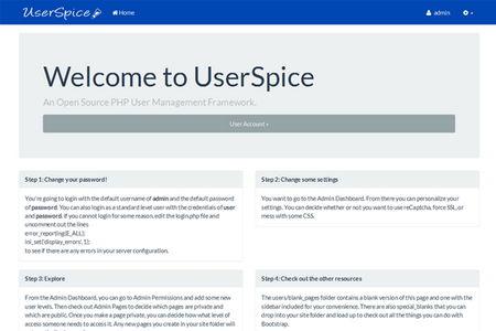 اسکریپت عضو گیری و مدیریت کاربر UserCake