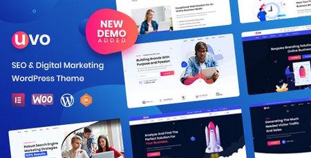 دانلود قالب UVO   قالب سئو و بازاریابی دیجیتال برای وردپرس