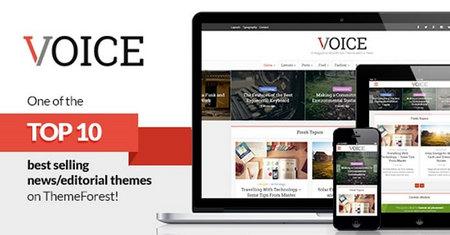 دانلود قالب Voice   قالب مجله ای وردپرس