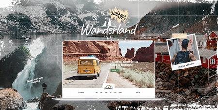 دانلود قالب Wanderland   قالب مسافرتی و گردشگری وردپرس