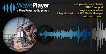 پلاگین پخش فایل های صوتی در وردپرس WavePlayer