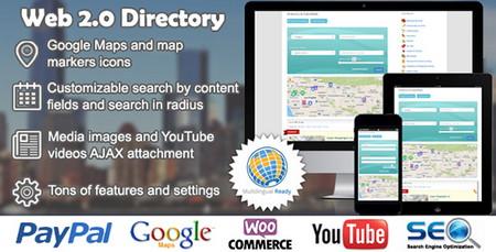 ایجاد دایرکتوری معرفی مشاغل در وردپرس با افزونه Web 2.0 Directory