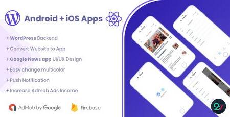 دانلود سورس اپلیکیشن اندروید و IOS نمایش اخبار Webile News